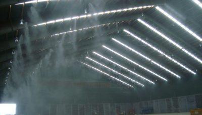 vị trí lắp đặt máy phu sương