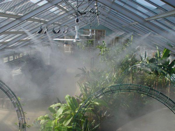 lưu ý sử dụng giàn phun sương