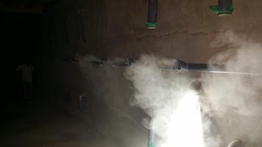 máy phun sương tự chế