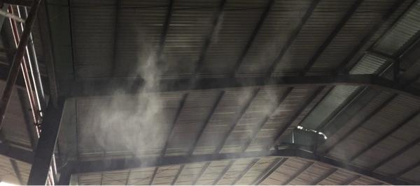 tại sao nên lắp đặt phun sương cho nhà xưởng