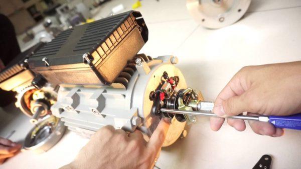 cách đấu tụ điện cho máy bơm