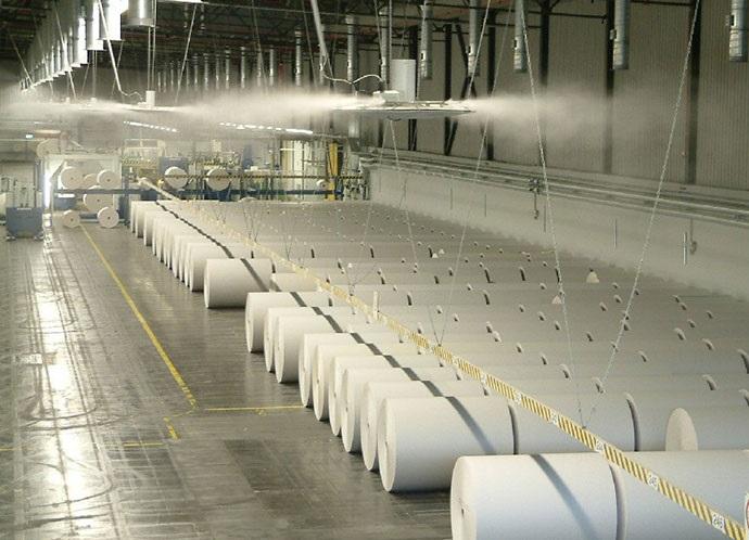 lắp đặt hệ thống phun sương tạo ẩm nhà xưởng