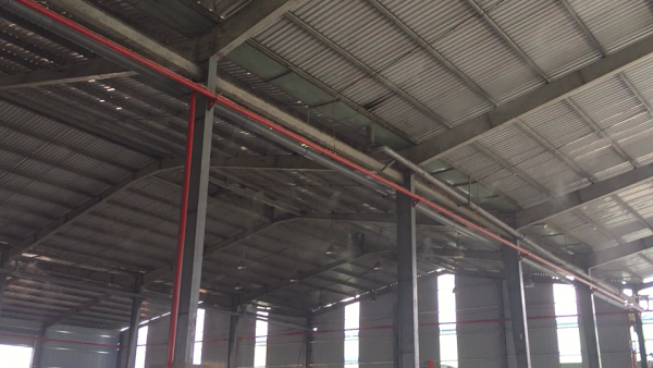 Sử dụng máy phun sương nhà xưởng hiệu quả tiết kiệm?