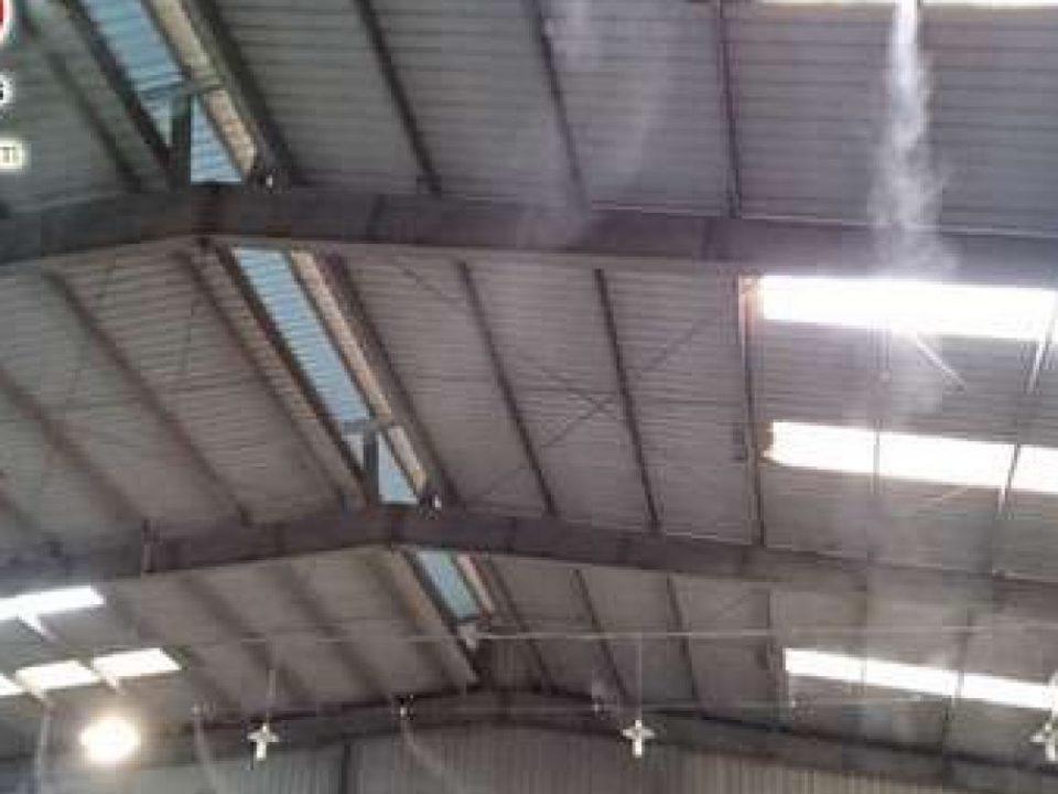 điểm tốt khi lắp máy phun sương nhà xưởng